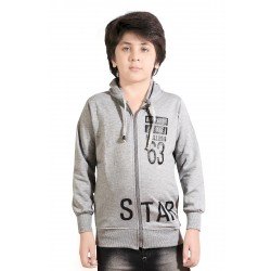 Full Sleeve Graphic Print Boy's Sweatshirt