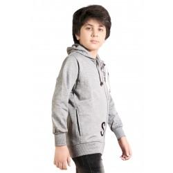 Full Sleeve Graphic Print Boy's Sweatshirt
