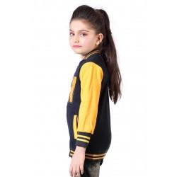 Full Sleeve Solid Girl's Sweatshirt
