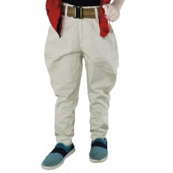 Relaxed Boys Khaki Trousers