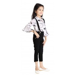 AD & AV Girls  BLACK PRINT KILOT