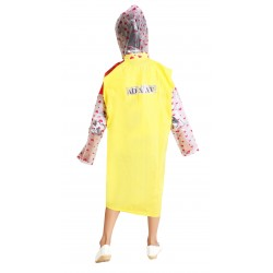 KIDS RAINCOAT RED & YELLOW
