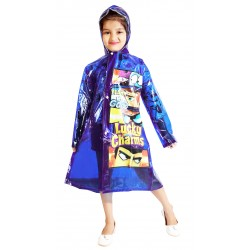 KIDS RAINCOAT BLUE