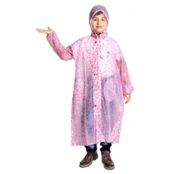 KIDS RAINCOAT PINKCHEX