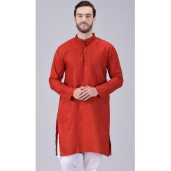 AD & AV MEN'S RED KURTA