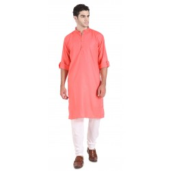 Men'S KURTA PAIJAMA SET PINK