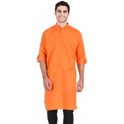 Men's KURTA ORANGE