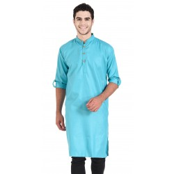 Men's KURTA SKYBLUE