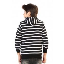 Full Sleeve Striped Boy's & Girl's Reversible Sweatshirt