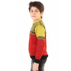 Full Sleeve Solid Boy's Sweatshirt