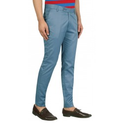 Regular Fit Men  BALENO SEA BLUE Trousers