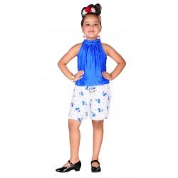 AD & AV GIRL BLUE DRESS