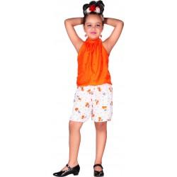 AD & AV GIRL ORANGE DRESS