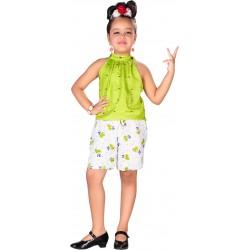 AD & AV GIRL GREEN DRESS