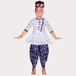 AD & AV GIRL'S PUNJABI DRESS