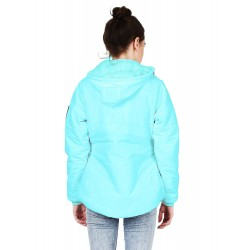 Full Sleeve Solid Women Quilted Jacket