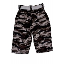 Short For Boys Casual Solid Cotton 8 RED AND BLACK (Multicolor, Pack of 2)