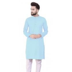 Men Kurta and Pyjama Set Cotton Blend
