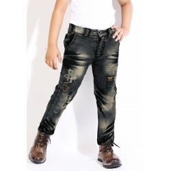 Slim Boys Black Jeans
