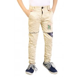 BOYS TROUSER CREAM