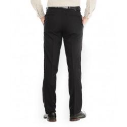 AD & AV Regular Fit Men'sBLACK Trousers