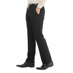 AD & AV Regular Fit Men'sBLACK Trousers (105)