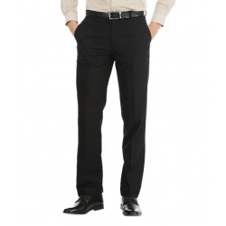AD & AV Regular Fit Men'sBLACK Trousers