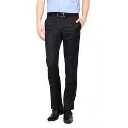 AD & AV Regular Fit Men'sBLACK Trousers (106)