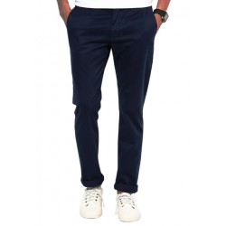 AD & AV Regular Fit Men's  BLUE Trousers (112)