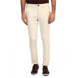 AD & AV Regular Fit Men's  CREAM Trousers (120)