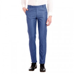 AD & AV Regular Fit Men's BLUE Trousers (129)