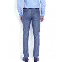 AD & AV Regular Fit Men's BLUE Trousers (130)