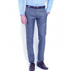 AD & AV Regular Fit Men's BLUE Trousers (130)