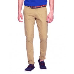 AD & AV Regular Fit Men's  BLUE Trousers (115)