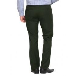 AD & AV Regular Fit Men's  GREEN Trousers (218)