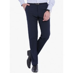 AD & AV Regular Fit Men'sNEVY Trousers (222)