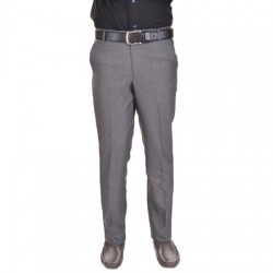 AD & AV Regular Fit Men'sGREYTrousers (230)