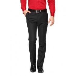 AD & AV Regular Fit Men's BLACK Trousers (234)