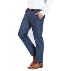 AD & AV Regular Fit Men's BLUE Trousers (235)