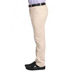 AD & AV Regular Fit Men's  CREAM Trousers (237)