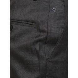 AD & AV Regular Fit Men's BLACK Trousers (285)