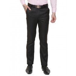 AD & AV Regular Fit Men's  black Trousers (288)