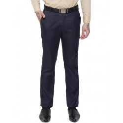 AD & AV Regular Fit Men's  DARK BLUE Trousers (291)