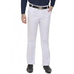 AD & AV Regular Fit Men's  WHITE Trousers (138)