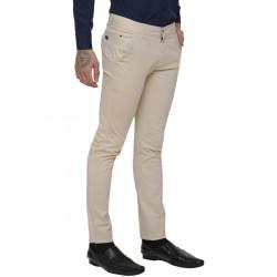 AD & AV Regular Fit Men's CREAM  Trousers (302)