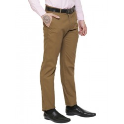 AD & AV Regular Fit Men's  KHAKHI Trousers (305)