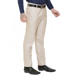 AD & AV Regular Fit Men's  CREAM Trousers (308)