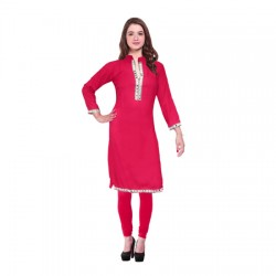 AD & AV Festive & Party Embellished Women RANI Kurti  (444)