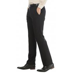 Regular Fit Men's Blue, Black Trousers