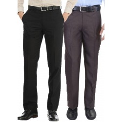 Regular Fit Men's combo gd black and coffi